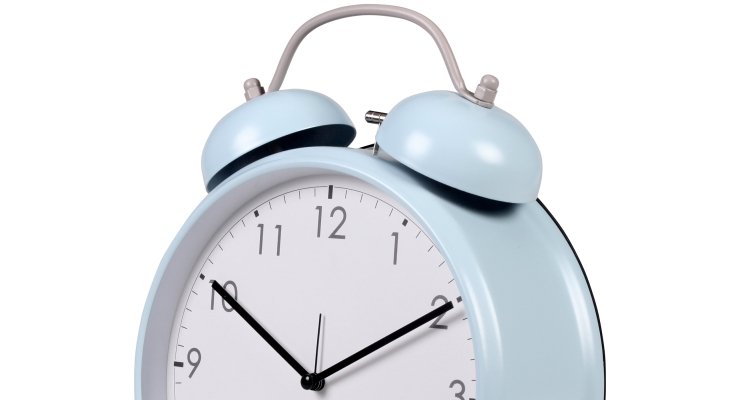 Modern Simple Silent Alarm Clock