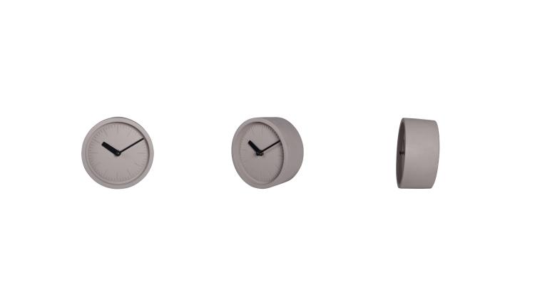 Small Analog Modern Desk Clock