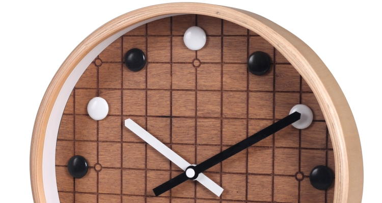 Wood Case Wall Clock