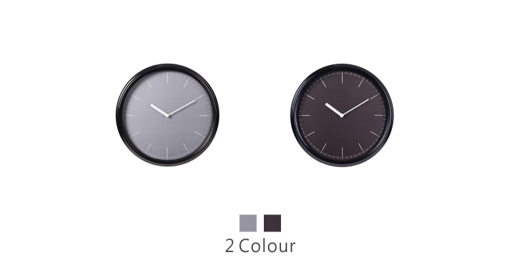 Stainless Metal Wall Clock