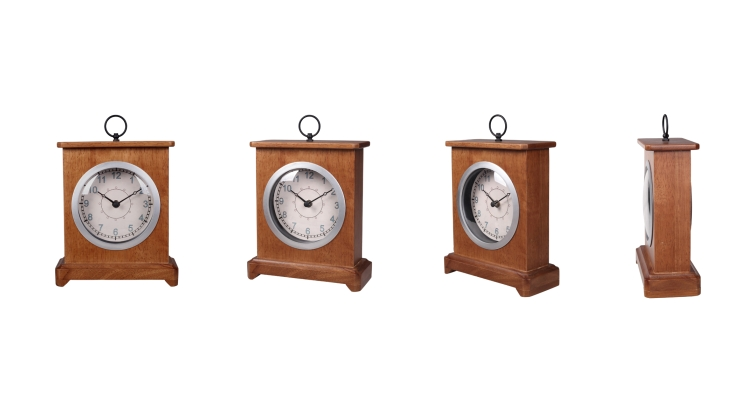 Mantel Clock Wood