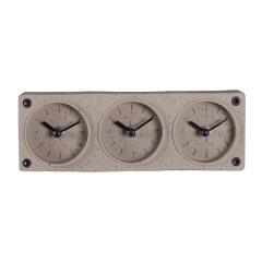 Three Time Zone Desk Clock. Personalized ...